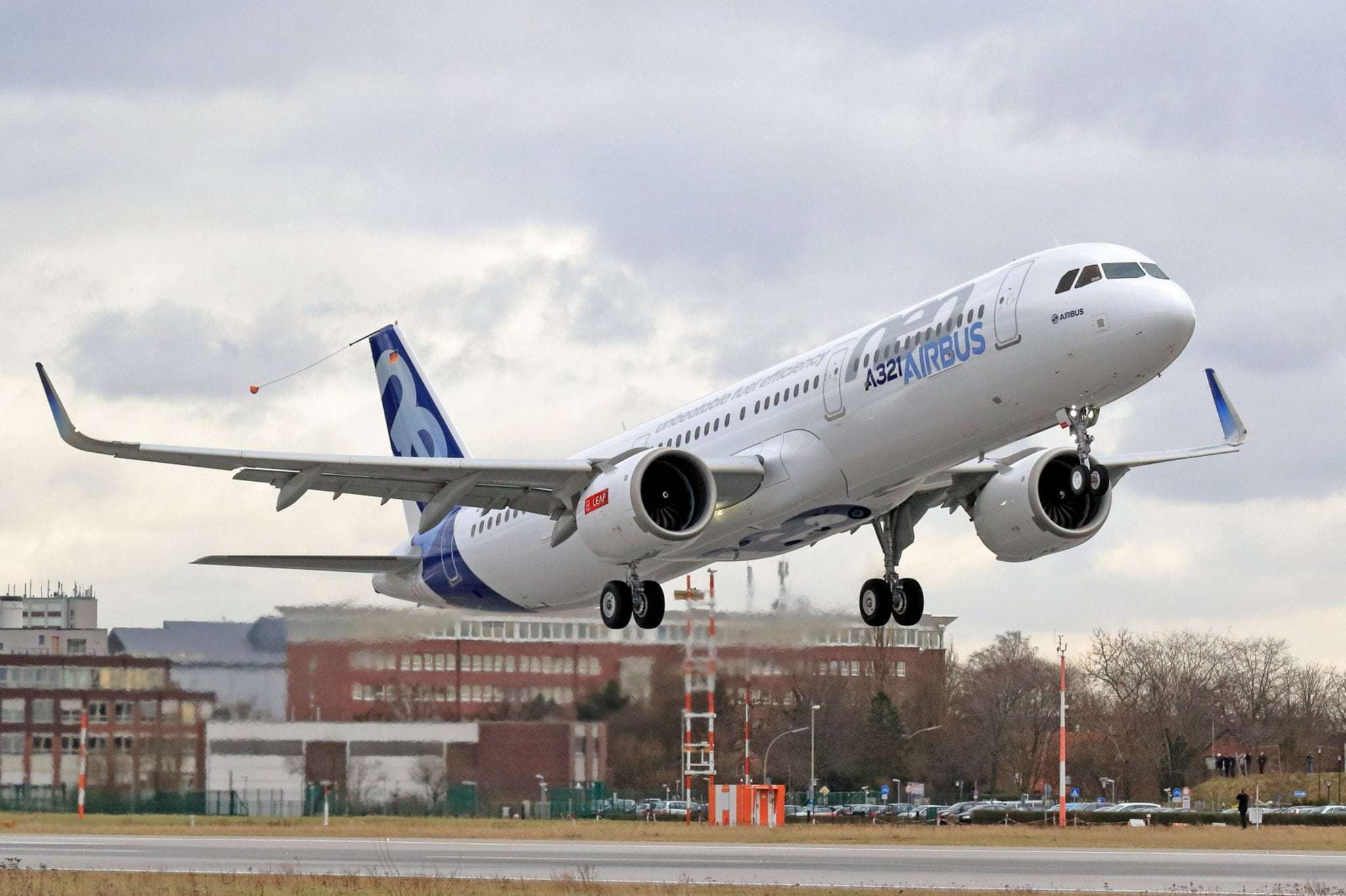 The maiden flight of Airbus' first A320neo equipped with CFM International LEAP-1A engines, which was performed Feb. 9, 2016