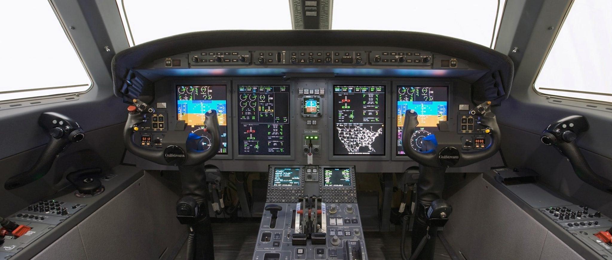 Gulfstream G150 cockpit avionics