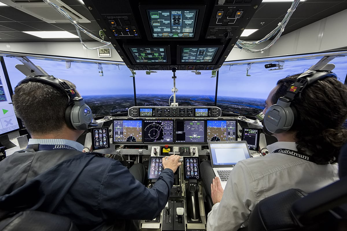 Gulfstream Launches Systems Testing with First G600 Iron Bird Flight