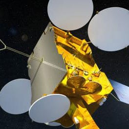 The SES 14 satellite for which Gogo has contracted capacity alongside SES 15