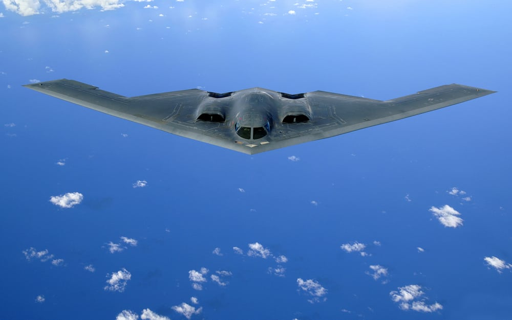 B-2 Spirit Bomber set for FFI transponder upgrades