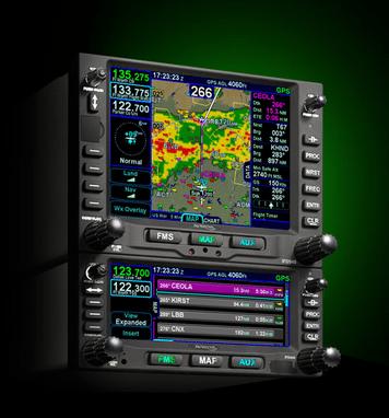 Avidyne IFD540 & IFD440 FMS/GPS/NAV/COM