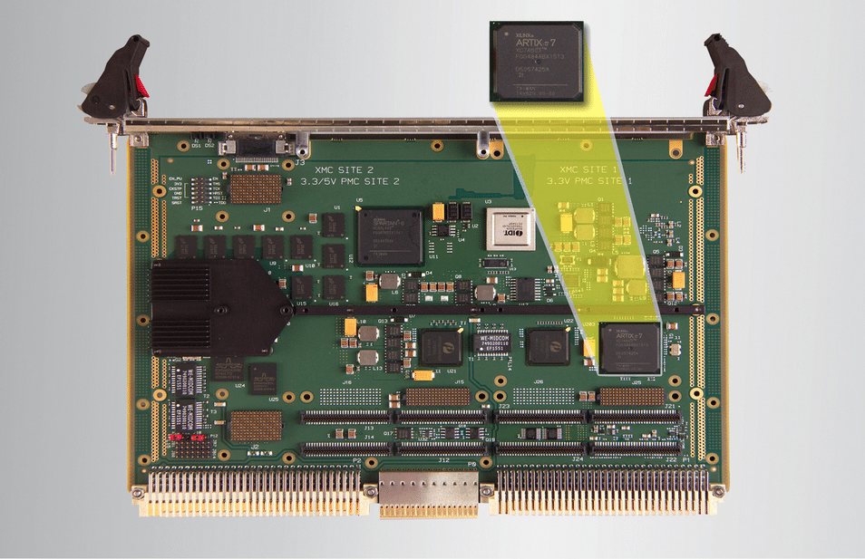 FPGA-based Helix PCI Express to VME64x Interface