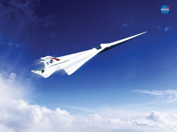 Supersonic Aircraft. Photo: NASA.