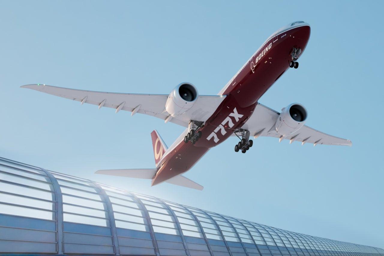 Boeing 777X rendering