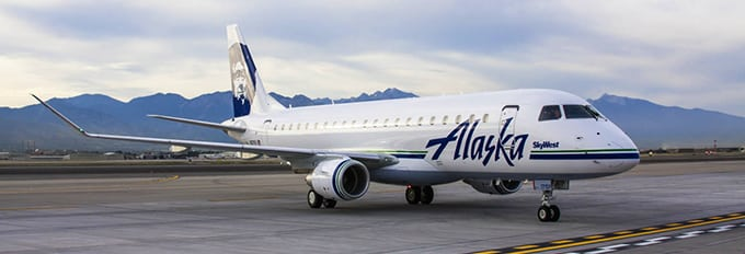 Alaska Air Embraer E175. Photo: Embraer