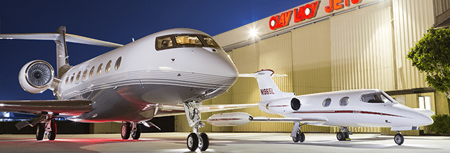 Clay Lacy Aviation hangar