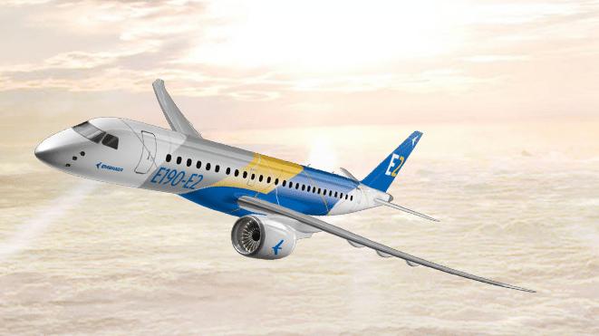 Rendering of the E190-E2