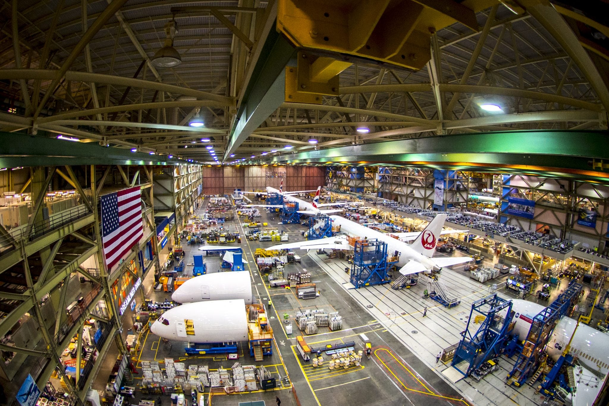 Boeing factory. Photo: Boeing