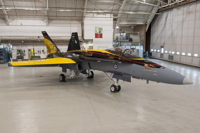 The CF-18 Demonstration Jet