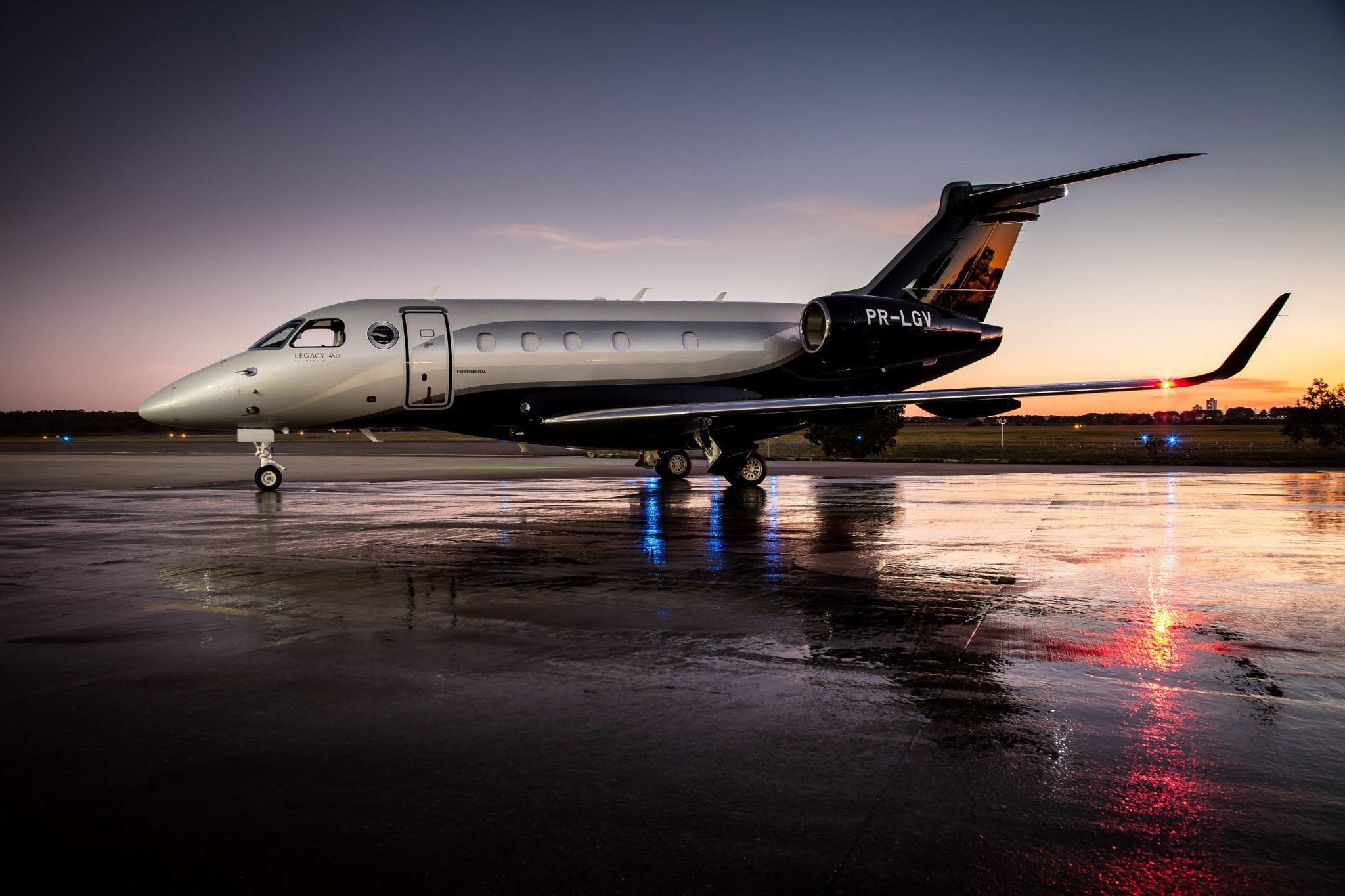 Embraer's Legacy 450