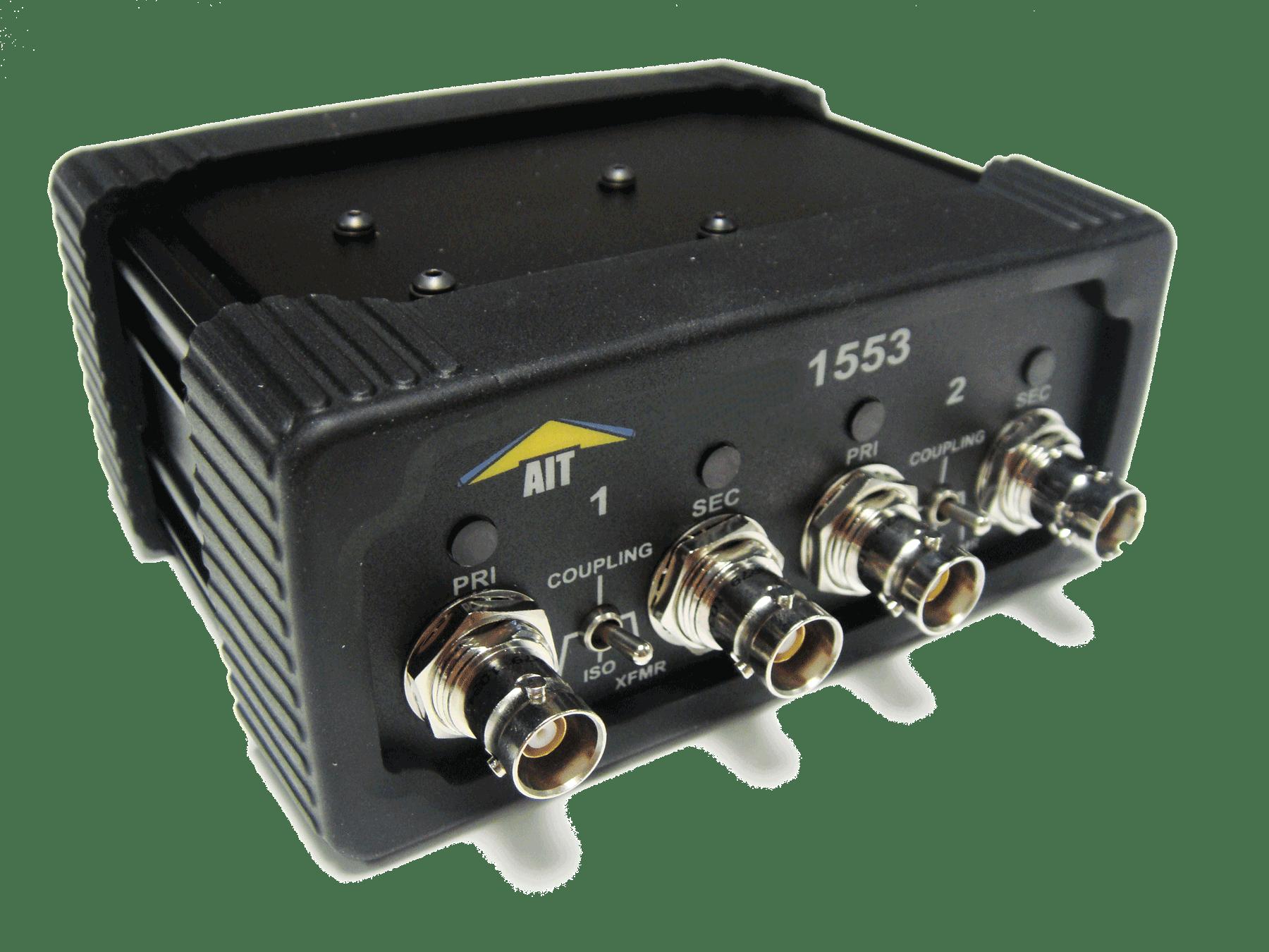 MIL-STD-1553 Ethernet data acquisition unit