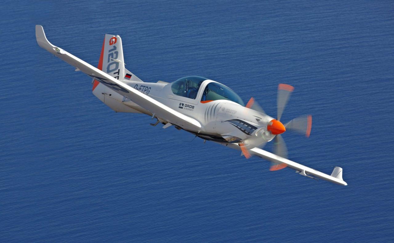 G120TP aircraft