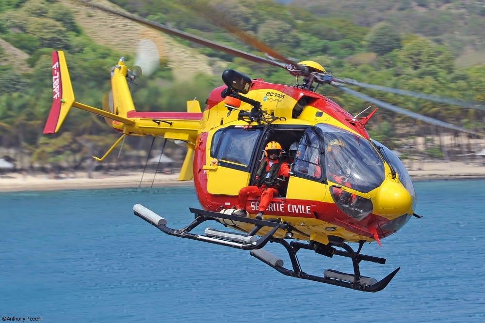 Securite Civile EC 145. Photo: Anthony Pecchi