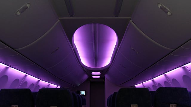 BAE Systems intellicabin interior lighting