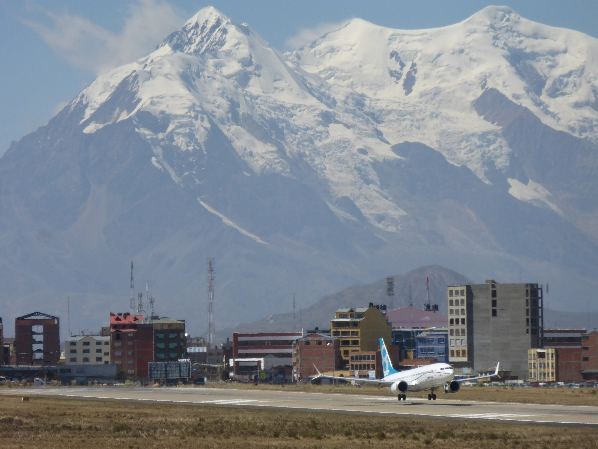 737 MAX 8 completing high altitude flight testing in La Paz, Bolivia