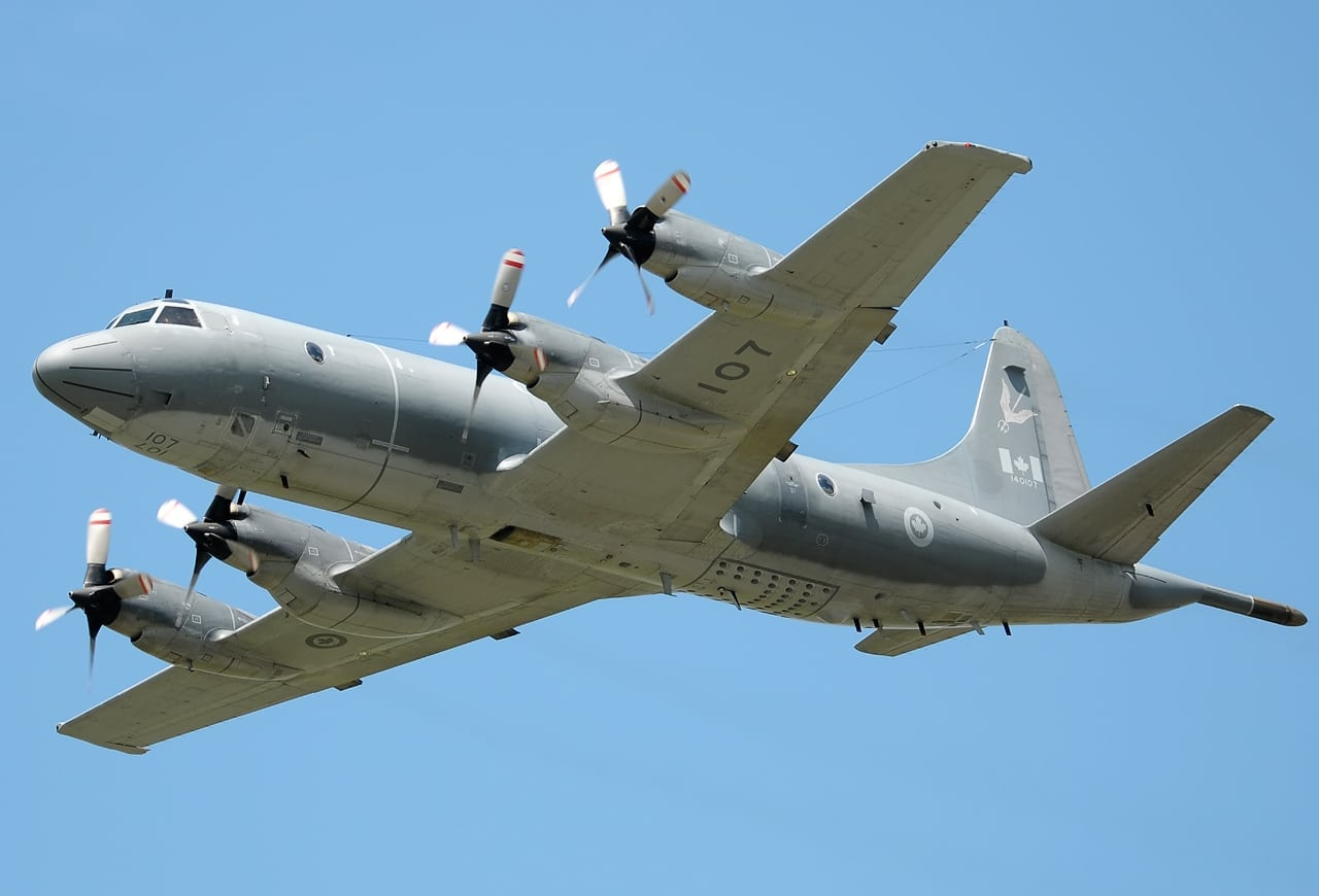 Canadian Royal Air Force Lockheed CP-140