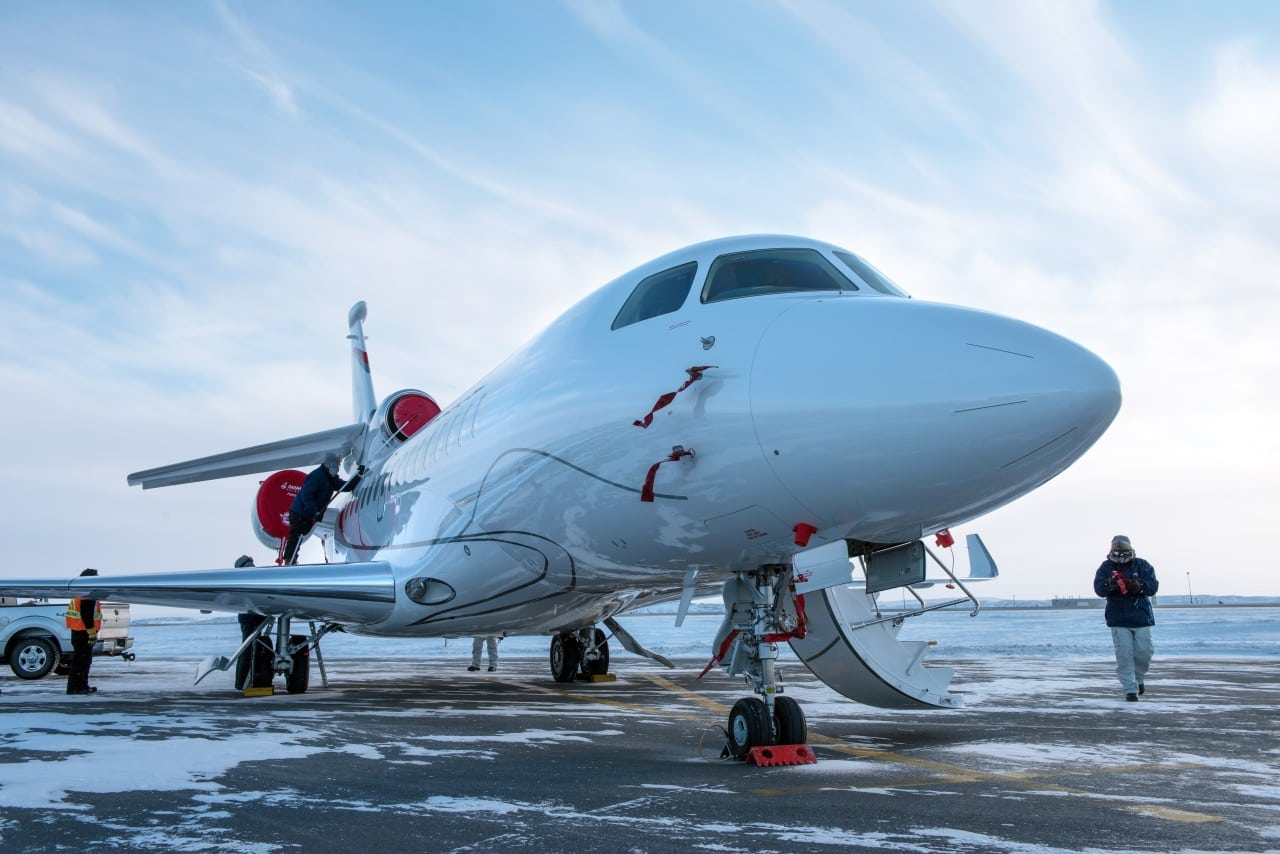 Dassault has signed a connectivity contract with Viasat for its Falcon 8X