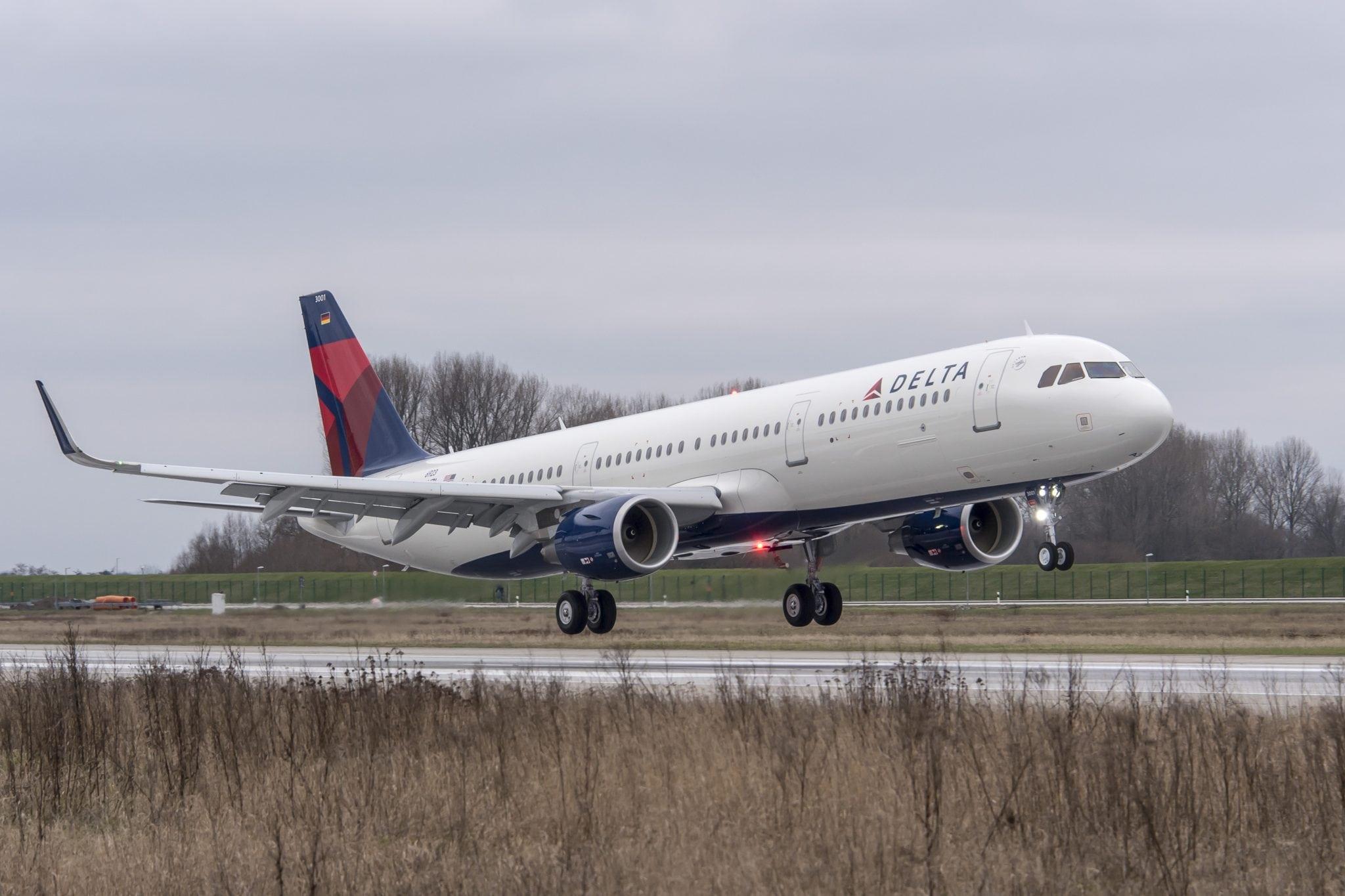 Delta A321. Photo: Delta