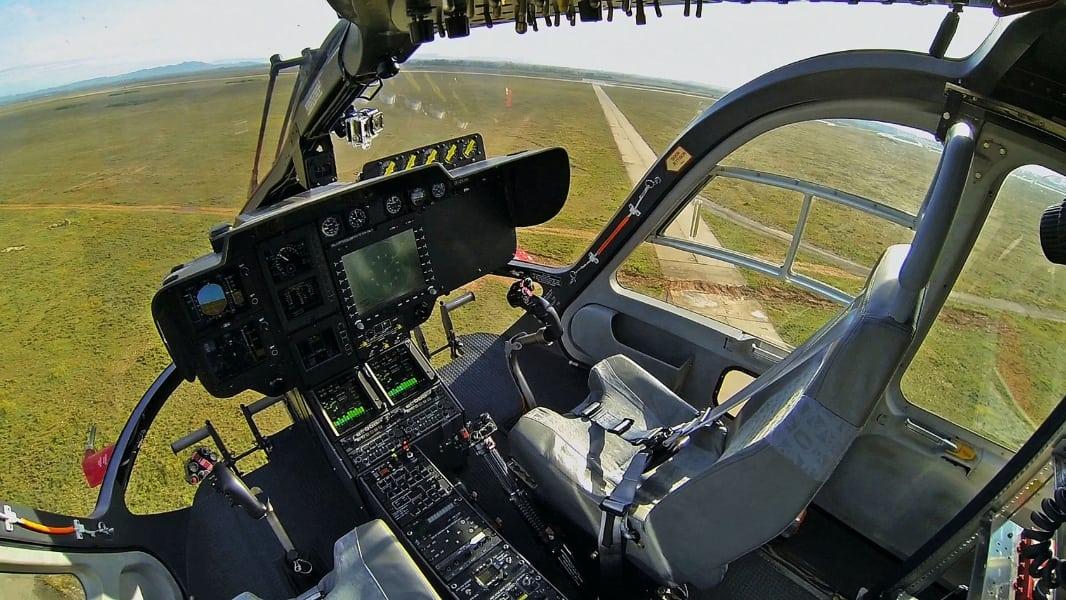 Airbus Helicopters Helionix advanced avionics cockpit