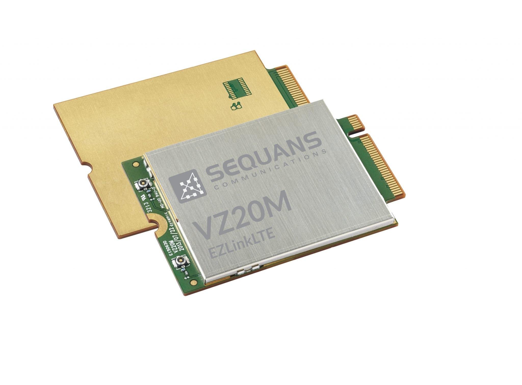 Sequans LTE chipset