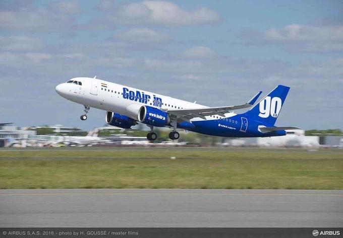 GoAir's first A320neo