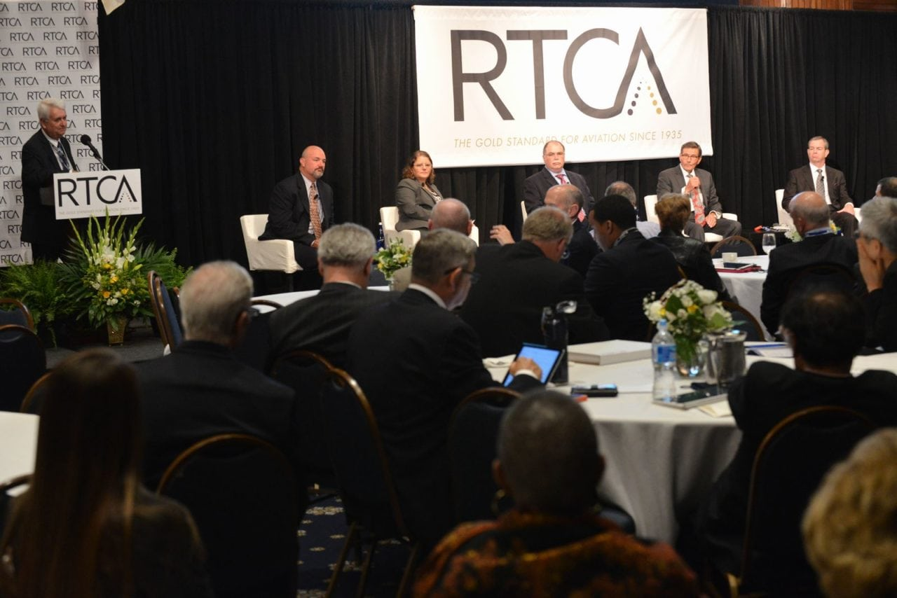The 2016 annual RTCA 2016 Global Aviation Symposium opening panel