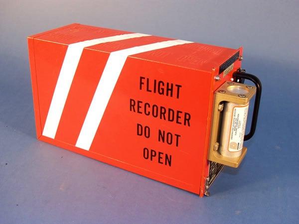 Gravador de dados do voo