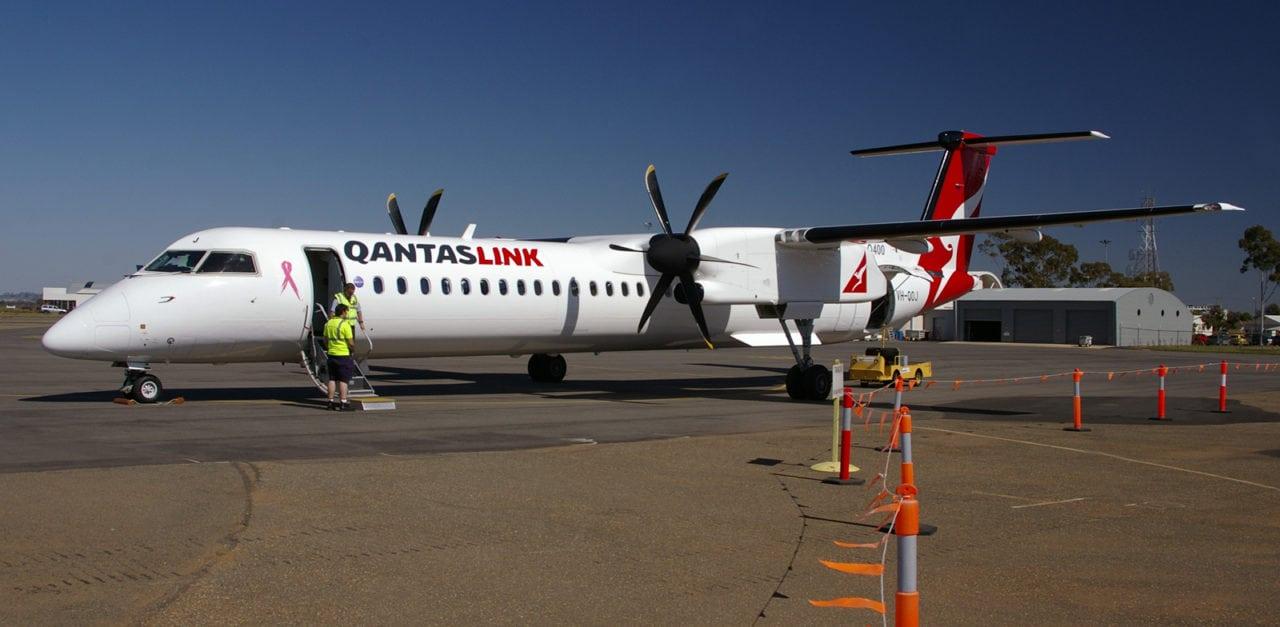 QantasLink aircraft