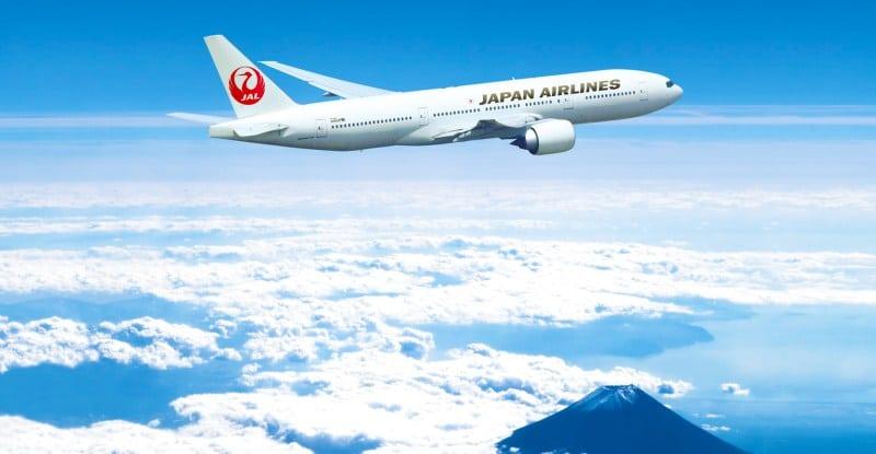Japan Airlines Boeing 777.
