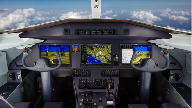 Pro Line Fusion flight deck for the TRJ328 and TRP328