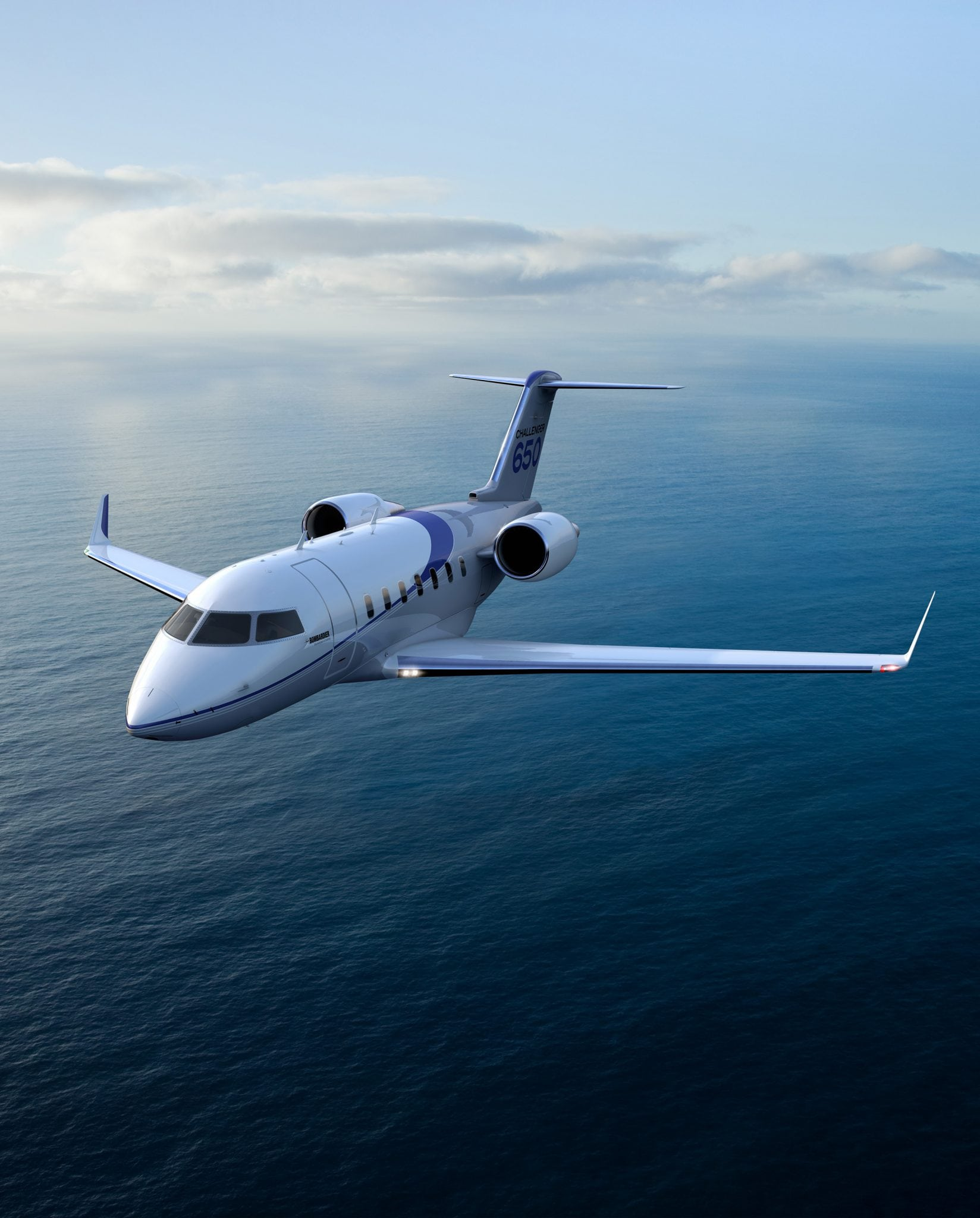 Bombardier's Challenger 650 aircraft