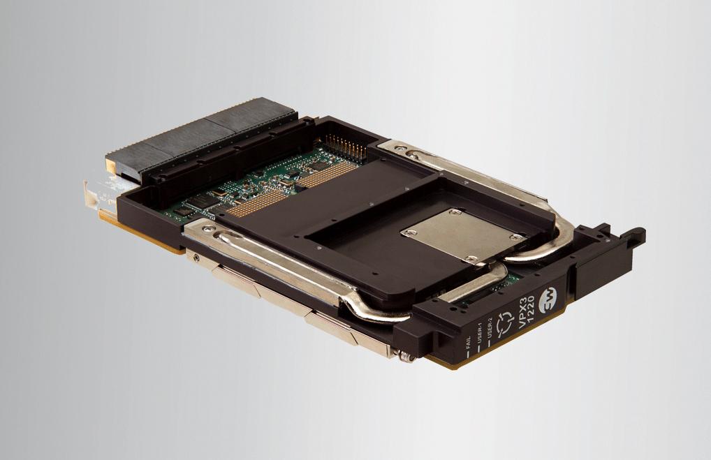 3U OpenVPX VPX3-1220 and XMC-121 XMC processor mezzanine card