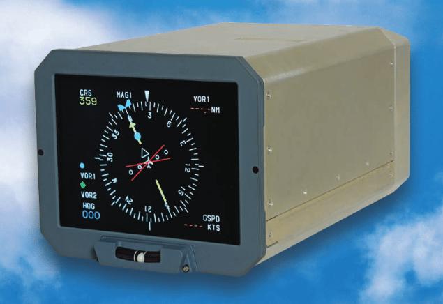 Esterline CMA-6800 display