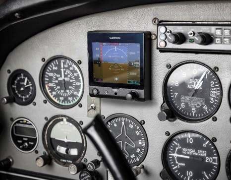 Garmin's G5 in cockpit