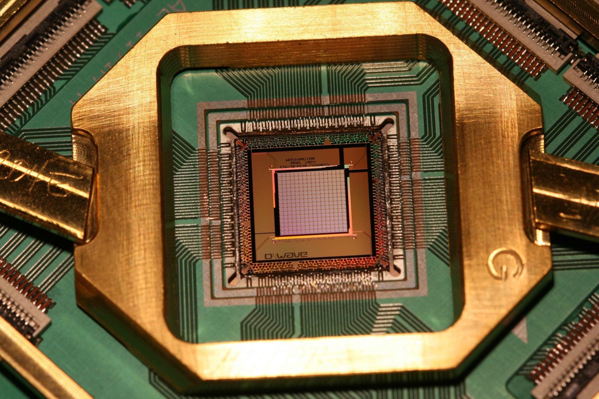 D-Wave 1,000 qubit processor