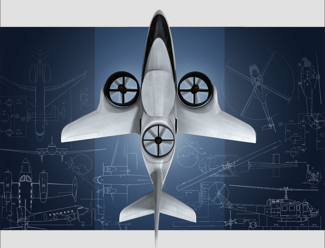 The XTI Aircraft Company's TriFan 600 design