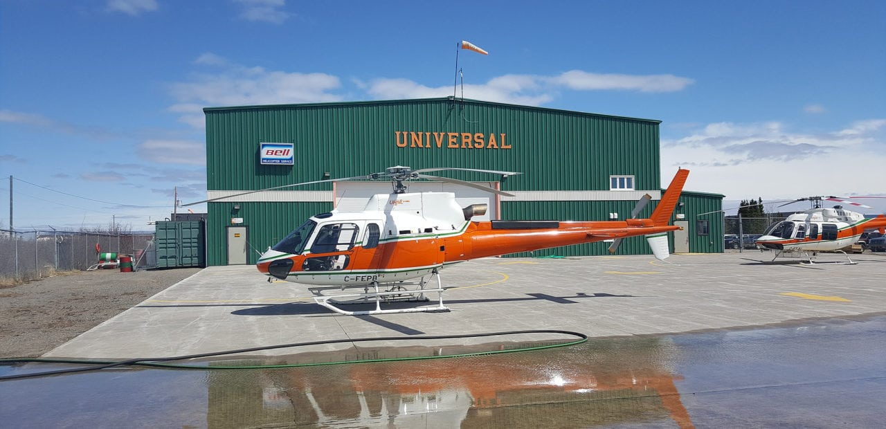 AS350 B3 helicopter