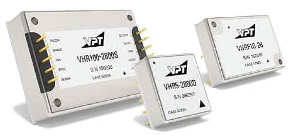 VPT VHR series DC-DC converters