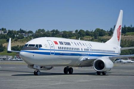 Air China Boeing 737-800