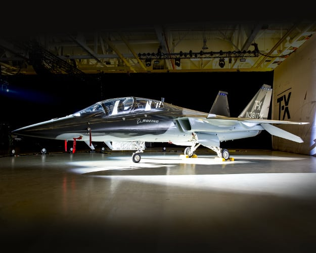 Boeing's T-X aircraft candidate
