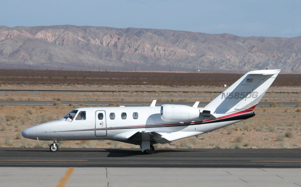 Cessna Citation CJ1 aircraft