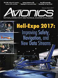 Avionics February March 2017 Cover