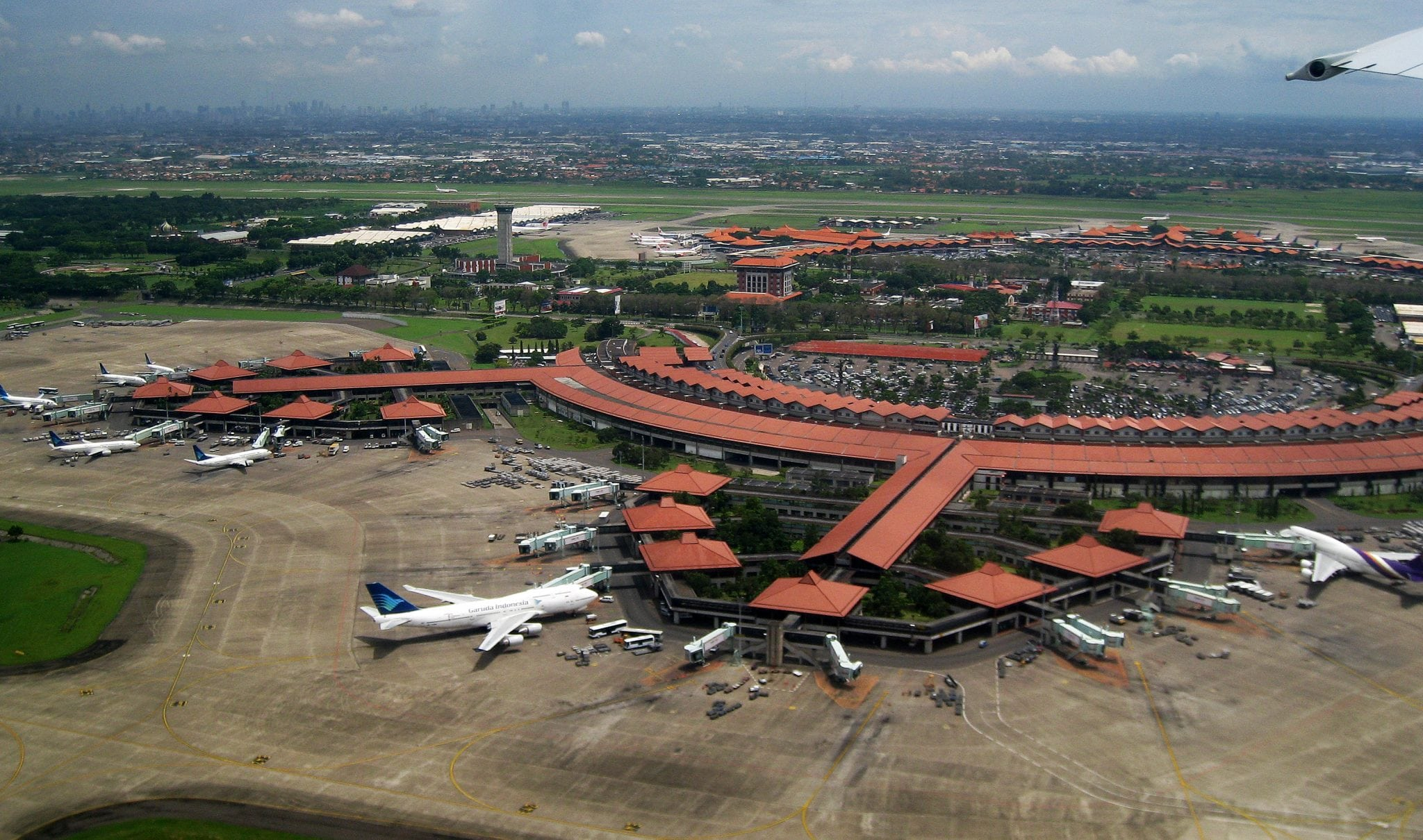 Soekarno–Hatta International Airport, the busiest in Indonesia and Southeast Asia