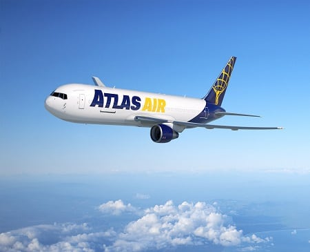 Atlas Air Boeing converted freighter