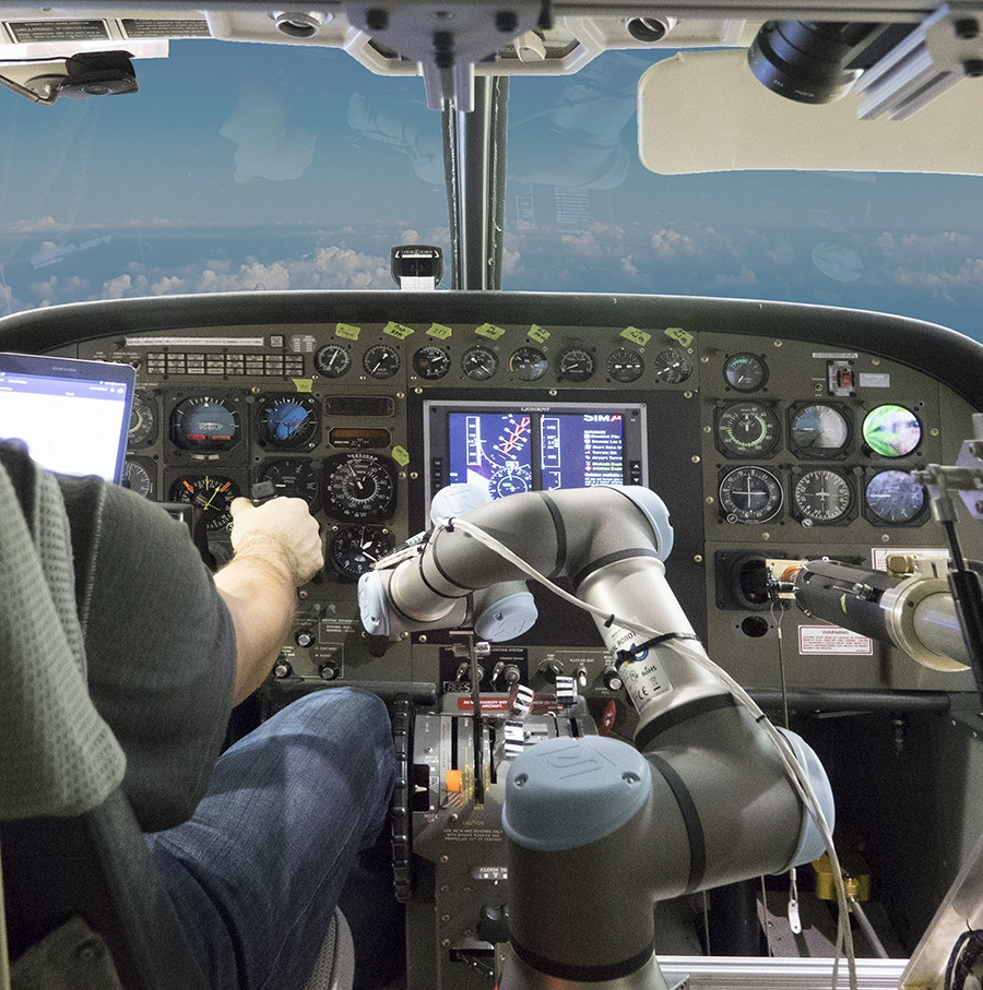 Aurora's Aircrew Labor In-Cockpit Automation System (ALIAS) program. Photo: Aurora Flight Sciences