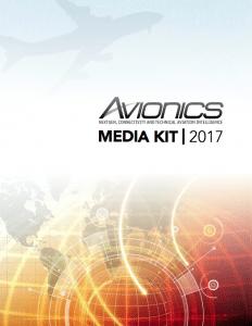 Avionics 2017 Media Kit Cover