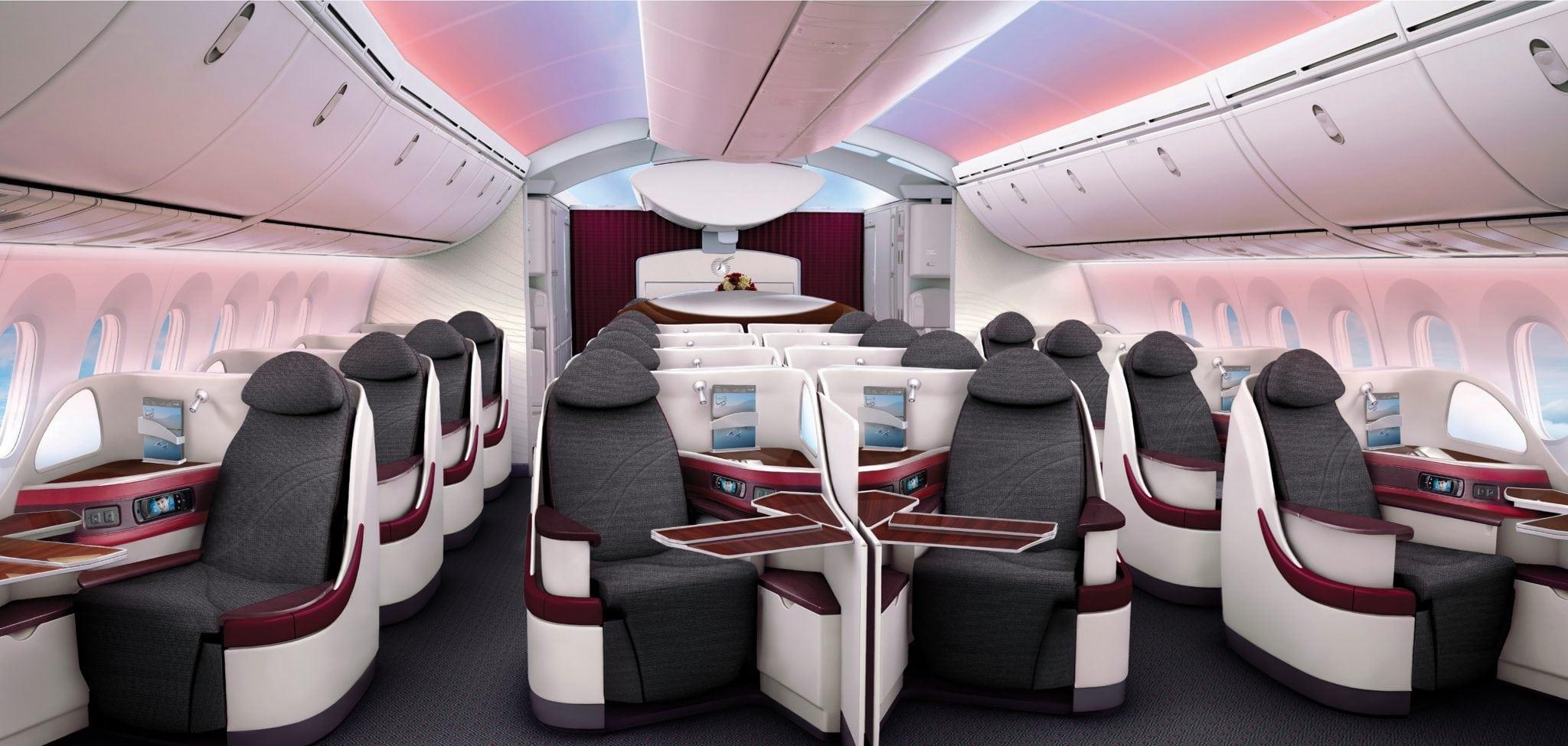 B/E Aerospace Super Diamond business class seat
