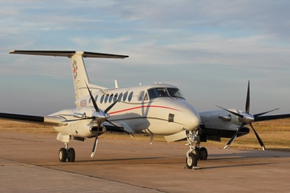 CAT 350ME. Photo: Commuter Air Technology