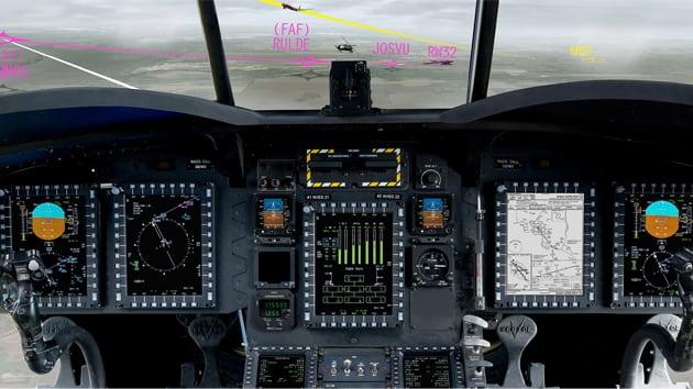 Rockwell Collins Required Navigation Performance (RNP) Area Navigation (RNAV) capable Mission Flight Management Software (MFMS)